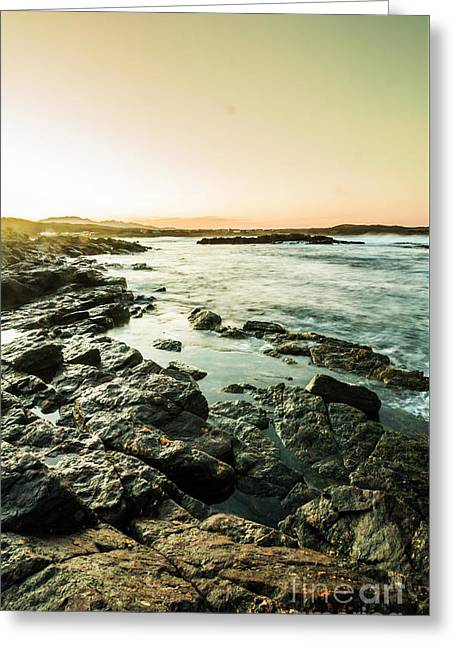 Tranquil Cove Greeting Card