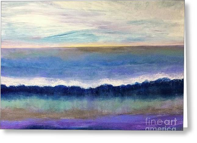 Tranquil Seas Greeting Card