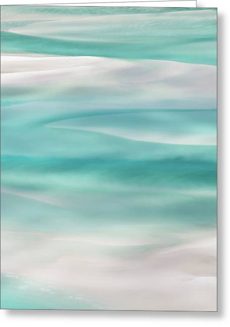 Tranquil Turmoil Greeting Card by Az Jackson