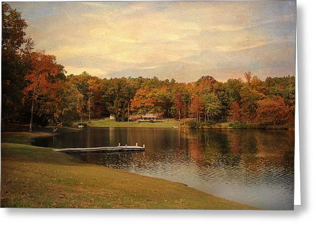Tranquility Greeting Card by Jai Johnson