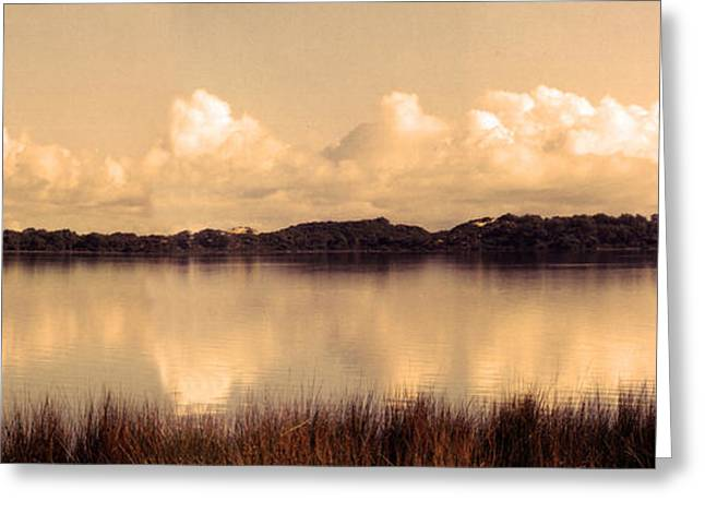 Tranquility Greeting Card by Kelly Jones