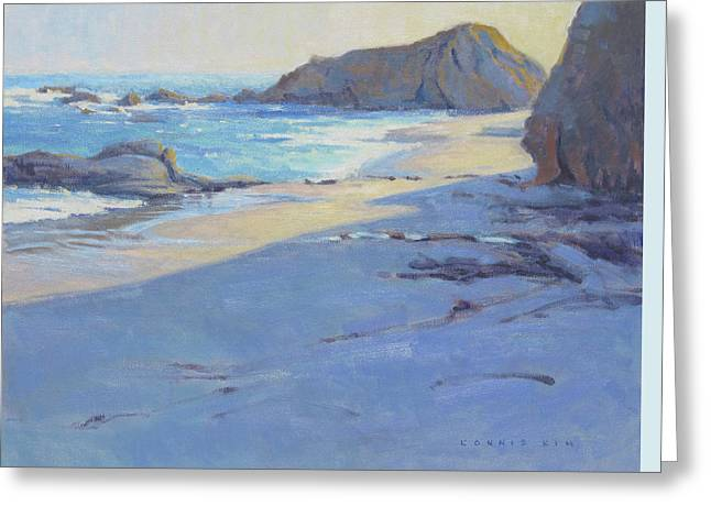 Tranquility Study / Laguna Beach Greeting Card