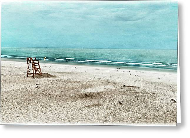 Tranquility On Tybee Island Greeting Card by Tammy Wetzel