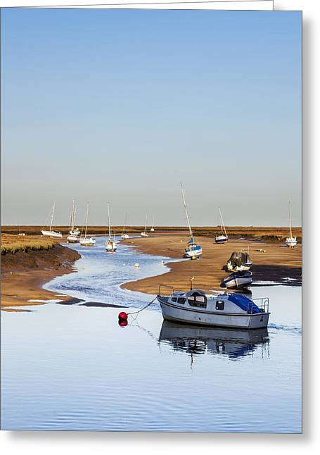 Tranquility - Wells Next The Sea Norfolk Greeting Card