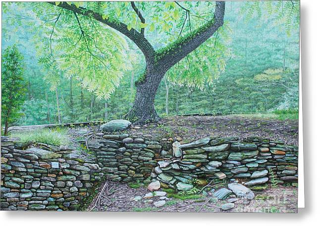Tranquillity Greeting Card by Mike Ivey