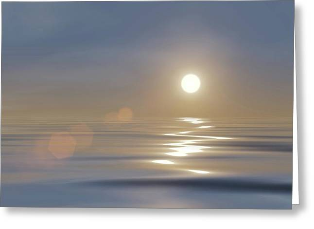 Tranquillity Greeting Card by Wim Lanclus