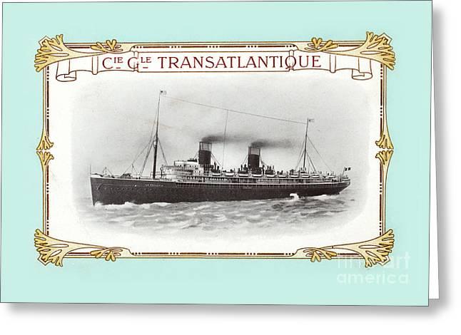 Transatlantique Greeting Card