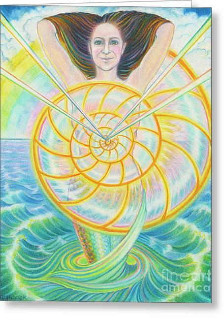 Transcendent Soul Greeting Card