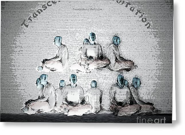 Transcendental Meditation Greeting Card