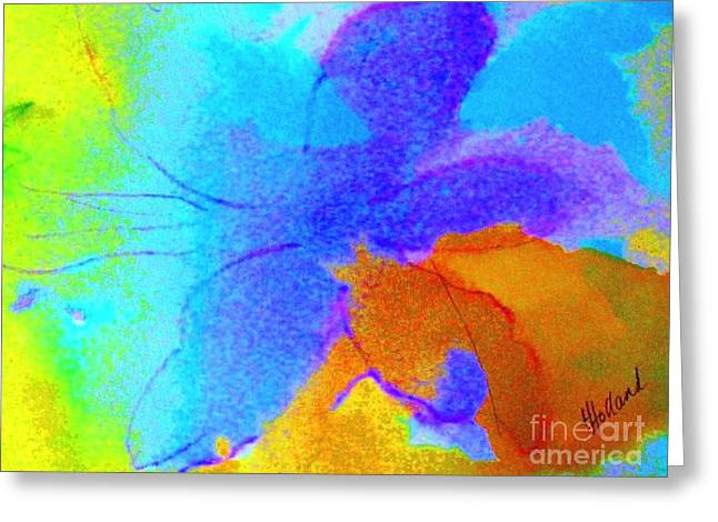 Transformed By Grace Greeting Card by Hazel Holland