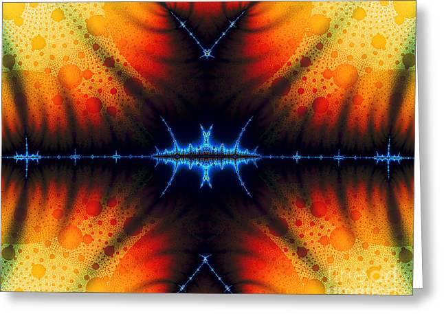 Transient Propagation Greeting Card by Clayton Bruster