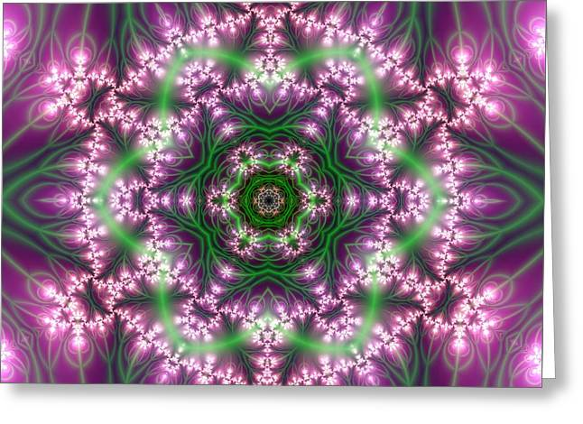 Transition Flower 6 Beats 4 Greeting Card by Robert Thalmeier