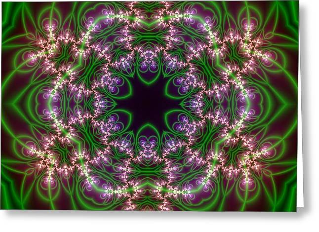 Transition Flower 6 Beats Greeting Card by Robert Thalmeier