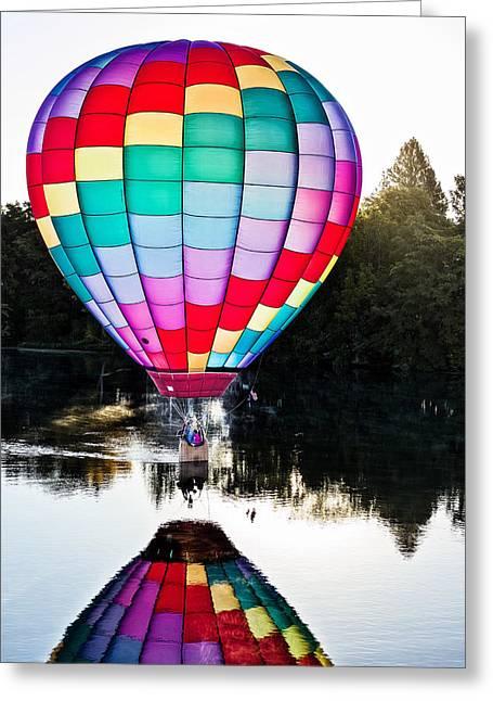 Translucent Balloon Greeting Card