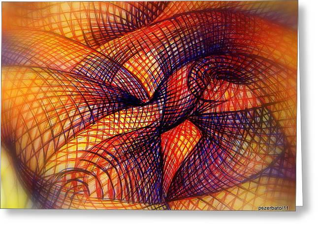 Transmutation Greeting Card by Paulo Zerbato