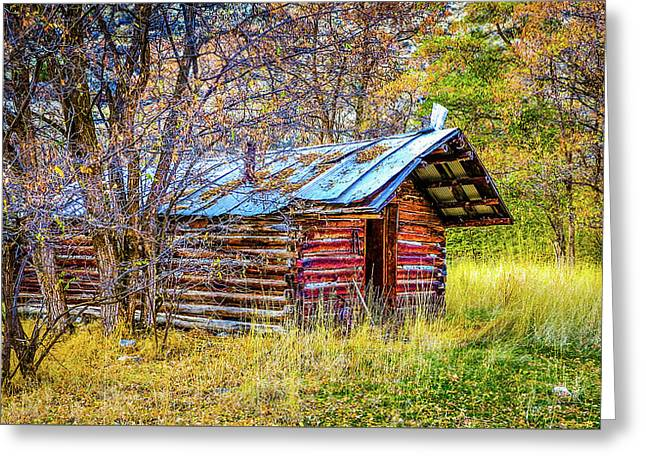 Trappers Cabin Greeting Card