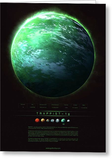 Trappist-1g Greeting Card