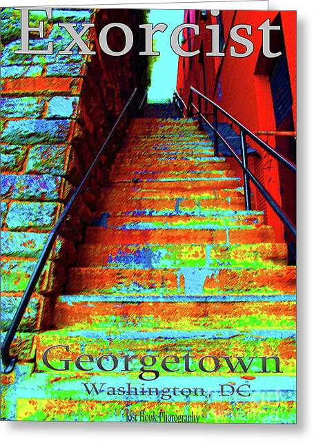 Travel-exorcist Steps Greeting Card by Jost Houk