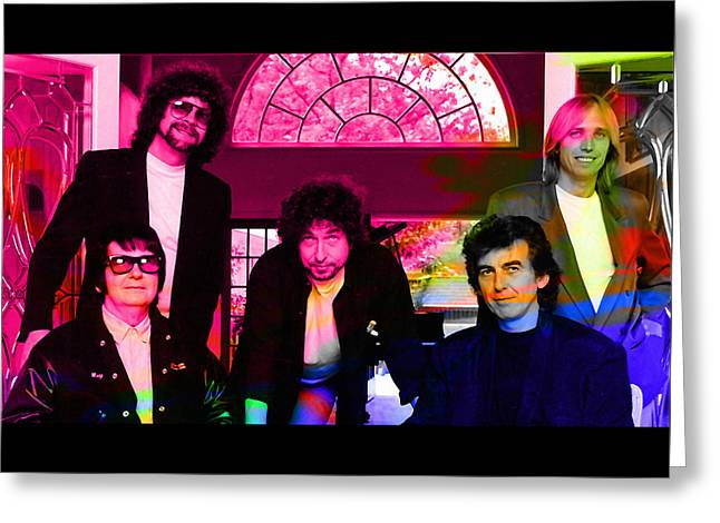 Traveling Wilburys Greeting Card