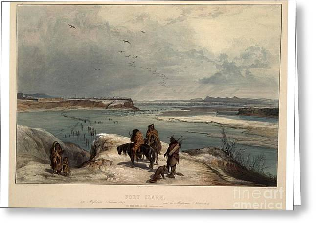 Travels In The Interior Of North America Greeting Card