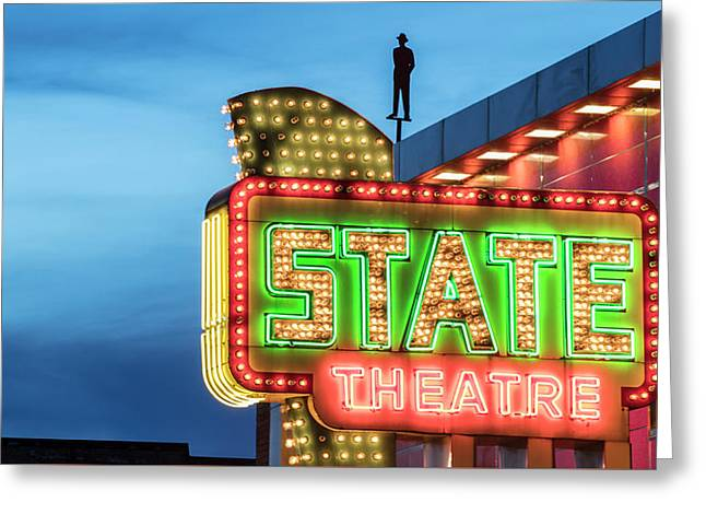 Traverse City State Theatre Greeting Card