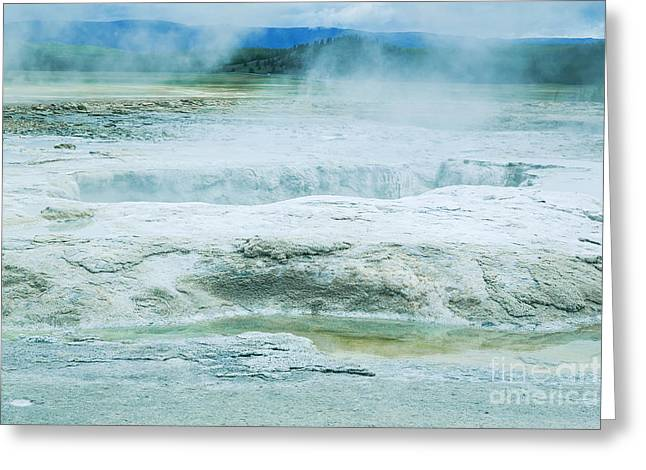 Travertine Terraces Greeting Card