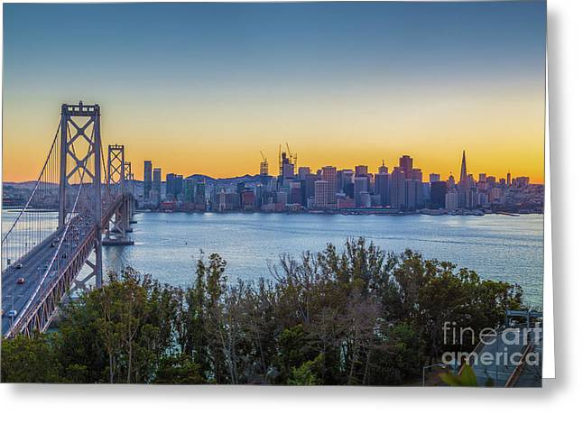 Treasure Island Sunset Greeting Card by JR Photography