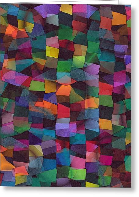 Treasures Greeting Card by Susan  Epps Oliver