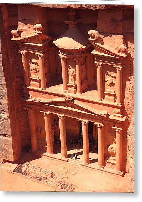 Treasury Of Petra Greeting Card