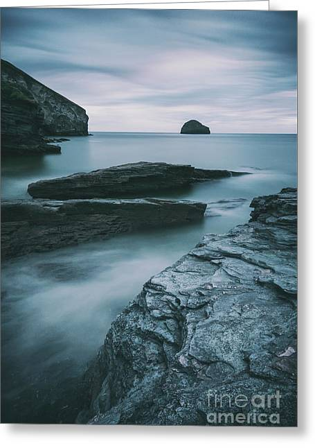 Trebarwith Strand II Greeting Card