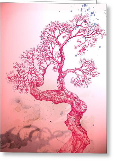 Tree 14 Hybrid 1 Greeting Card