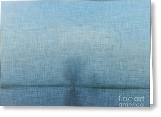 Tree Among Waters Greeting Card