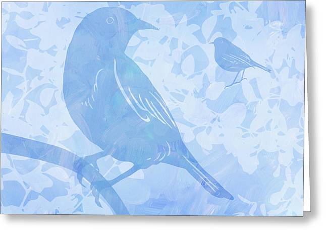Tree Birds I Greeting Card