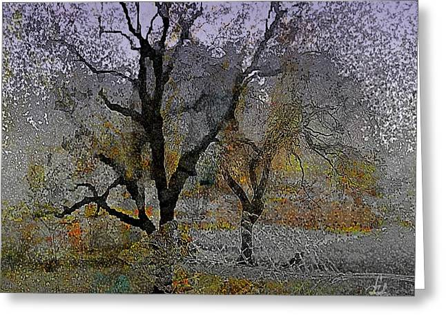 Tree Deconstructed 6 Greeting Card by Lynda Payton