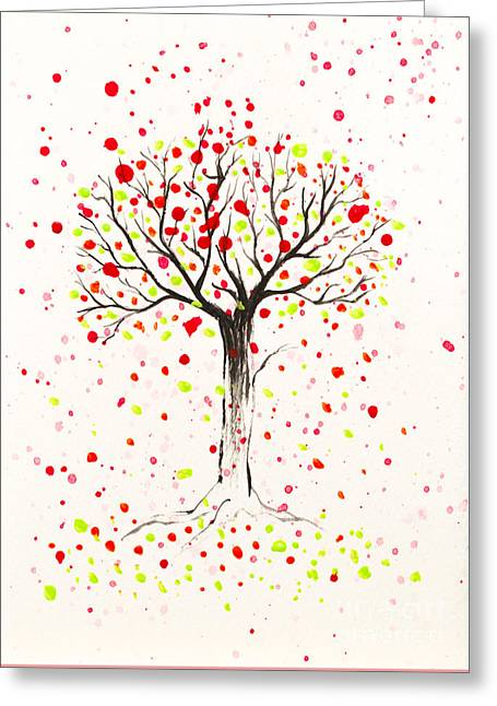 Tree Explosion Greeting Card
