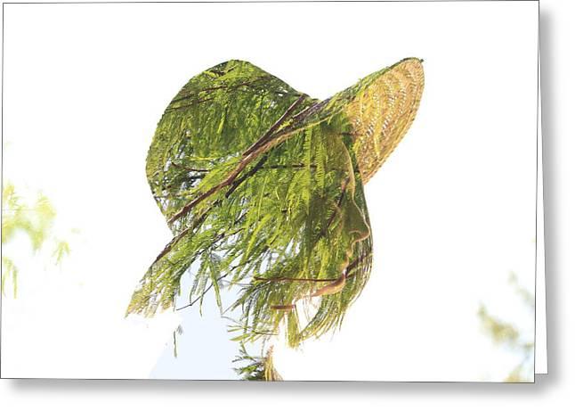 Tree Hat Greeting Card