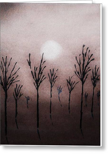 Tree Layers 9 Greeting Card by Dorothy Berry-Lound