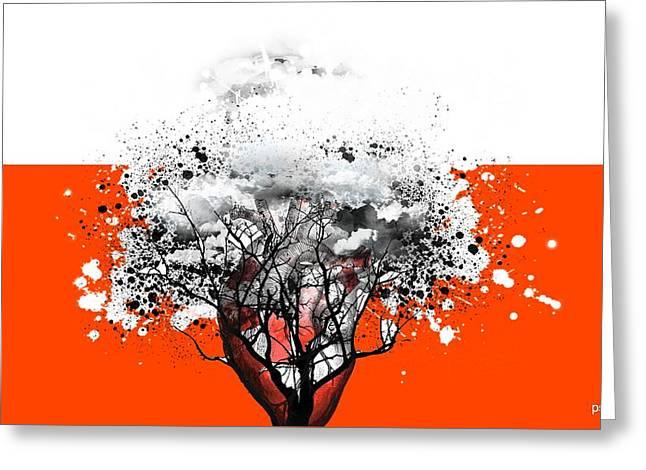 Tree Of Feelings Greeting Card