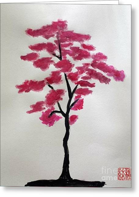 Tree Of Grace Greeting Card