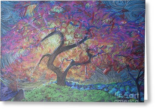Tree Of Hope Greeting Card by Stefan Duncan