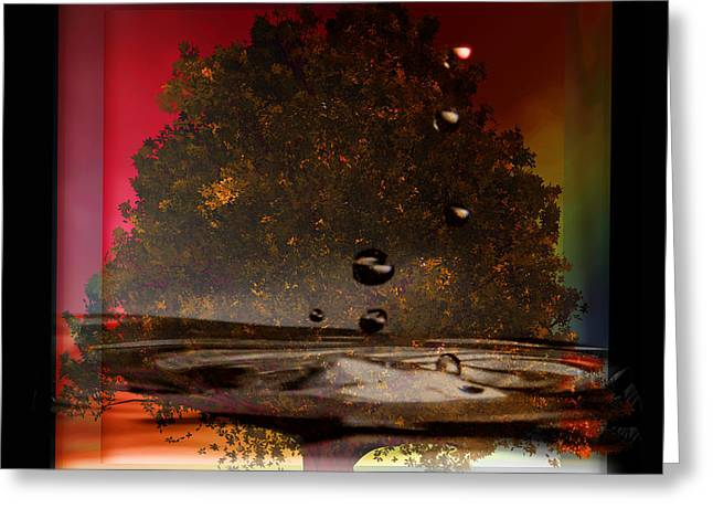 Tree Of Life Fountain Of Youth Greeting Card