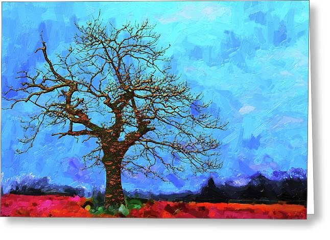 Tree Of Life - Out Of The Blue Greeting Card