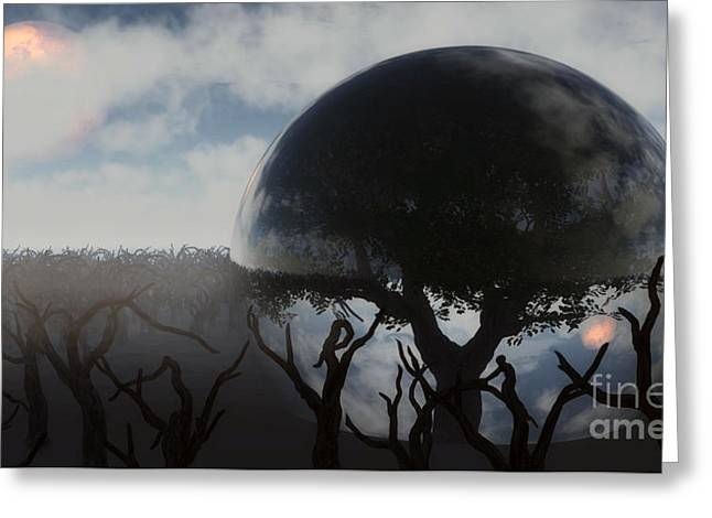 Tree Of Life  Greeting Card by Richard Rizzo