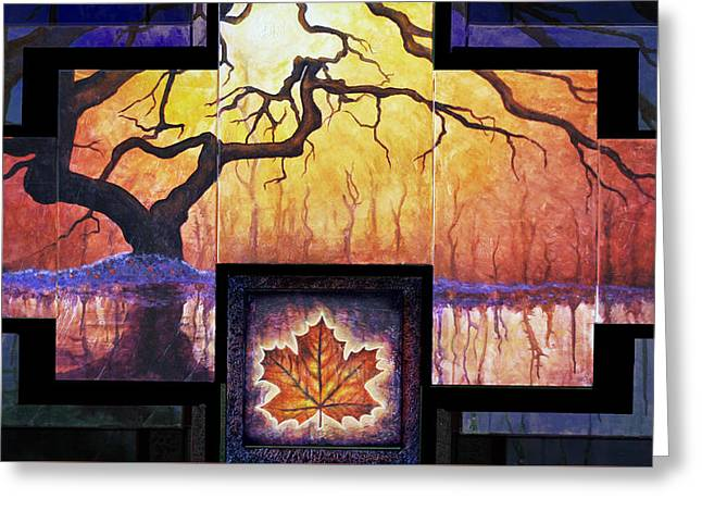 Tree Of Life The Giver Greeting Card