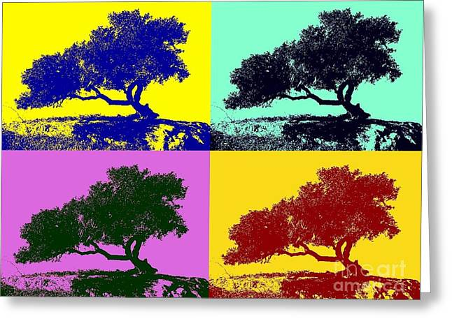 Tree Of Life X 4 Greeting Card by Tap On Photo