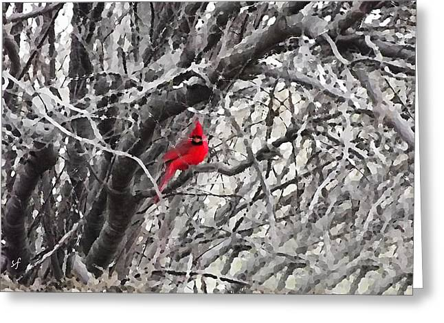 Tree Ornament Greeting Card