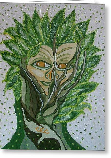 Tree Sprite Greeting Card