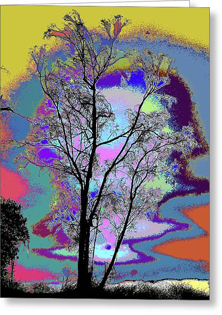 Tree - Story Of Life Greeting Card