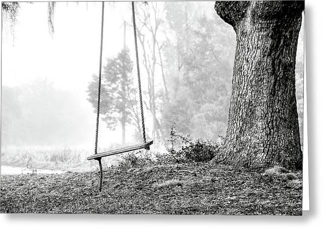 Tree Swing Greeting Card