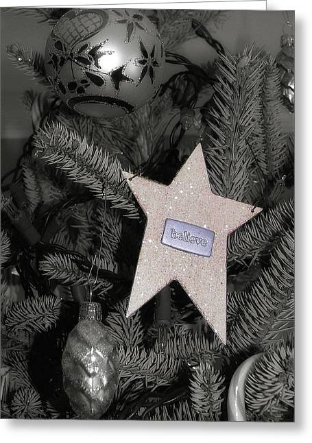 Tree Topper Greeting Card by JAMART Photography
